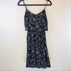 [H&M] Divided Floral Tiered Mini Dress - #1068